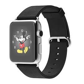 Apple - Apple Watch Black Classic Buckle