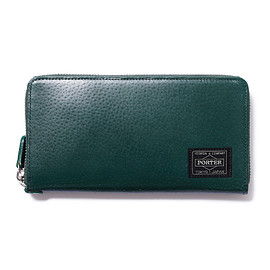 "HEAD PORTER - ""BAILIO"" WALLET (L) GREEN"
