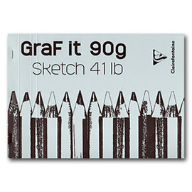 Clairefontaine - 「GraF it 90g」A4