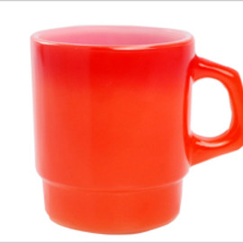 Fire King - Stacking Mug Orange