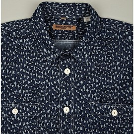 Levi's Made & Crafted - LEOPARD PRINT WORK SHIRT