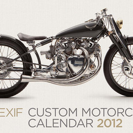 The 2012 Bike EXIF - Motorcycle calendar