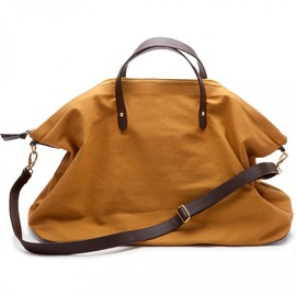 Cuyana - CANVAS AND LEATHER WEEKENDER BAG