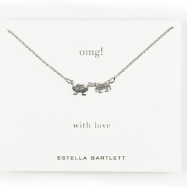 Estella Bartlett - OMG! Space Invaders Necklace EB246