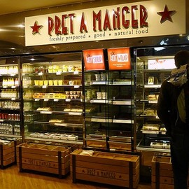 London - Pret A Manger