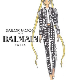 BALMAIN - Sailor Moon for Balmain