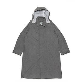 DESCENTE PAUSE - Liner Soutien Collar Coat-Charcoal Gray