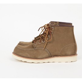 "Red Wing - Shoes 8881 - 6"" Moc Olive Mohave"