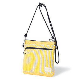 "HEAD PORTER - ""LUMIERE"" SHOULDER POUCH (S) YELLOW"