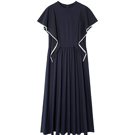 LE CIEL BLEU - Draped Panel Dress-1