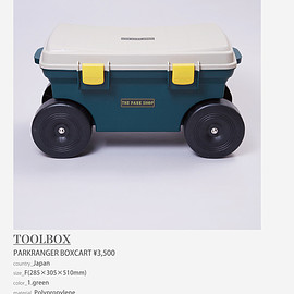 THE PARK SHOP - TOOLBOX
