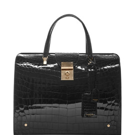 THOM BROWNE - Pre-Fall 2015 Large Mrs. Thom Alligator Handbag