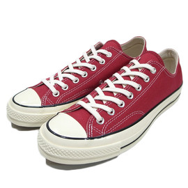 Converse - First String 1970s Chuck Taylor All Star LOW OX CRIMSON
