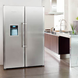 LIEBHERR - Side by side refrigerator