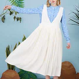 the whitepepper - Pleat Pinafore
