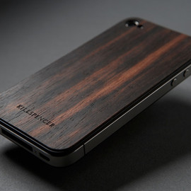 KILLSPENCER - Real Wood Veils ? For Apple IPhone 4