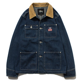 STUSSY - Native Tongues Denim Coverall