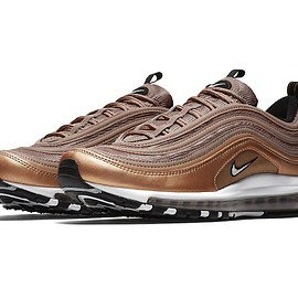 NIKE - Nike Air Max 97 Metallic Red Bronze Desert Dust White Black January 13 Release