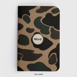 word notebooks - 3 pack poket note