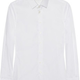 Saint Laurent - Cotton-poplin shirt