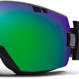Smith Optics - I/OX : Black Frame with Green Sol-X Mirror Lens