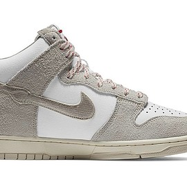 "NIKE, Notre - Dunk High ""Ours,"" Pearl White"