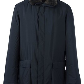 Loro Piana - zip up wind breaker
