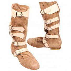 Vivienne Westwood - Suede Pirate Boots
