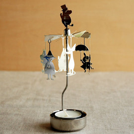 pluto produkter - ムーミンロータリーキャンドルホルダー ファミリー(Rotary Candle Holder Moomin Family) / photo 1