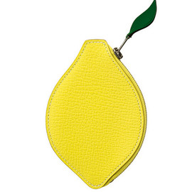 HERMES - Yellow LeatherPorte