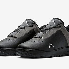 NIKE - A COLD WALL Air Force 1 Low Black / Dark Grey