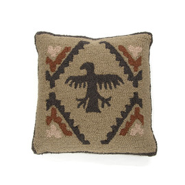 PENDLETON - Hooked Wool Rock Art - Bird