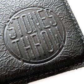 Stones Throw -  Leather iPad Sleeve