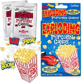 Accoutrements - Exploding Popcorn Candy