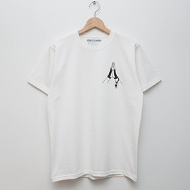 cup and cone - My Blood Tee - White
