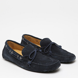 Mr. Hare - Sergios Driving Shoes in Navy