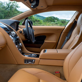 "Aston Martin - Interior of the ""Ultra-Rapid S"""