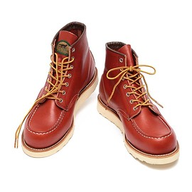 "RED WING - <MEN>RED WING ×BEAMS / ""アイリッシュセッター""モックトゥ ブーツ"