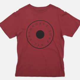 Saturdays - Button T-Shirt