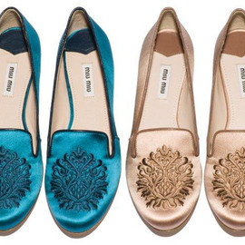 miu miu - 2012 slippers