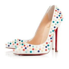 Christian Louboutin - PIGALLE SPIKES GOMME