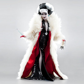 Disney - Disney villains designer collection doll :cruella de vil