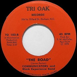 COMMUNICATORS AND BLACK EXPERIENCE BAND - THE ROAD