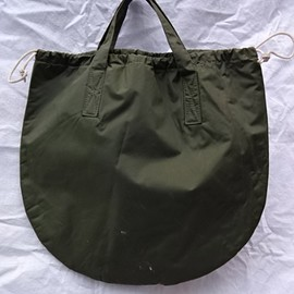 VINTAGE - British Army Helmet Bag