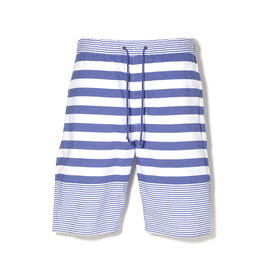 White Mountaineering - YARN DYED BORDER EZ SHORTS