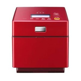 MITSUBISHI - IH Rice Cooker NJ-XW103J-R color: Rubby Red