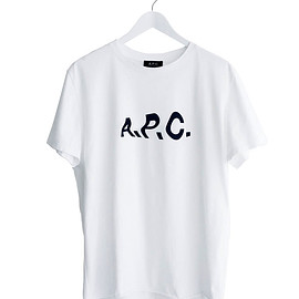 "JOURNAL STANDARD relume×A.P.C., A.P.C., JOURNAL STANDARD relume - ""A.P.C.""×relume special make up Tシャツ(white)"