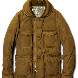 08sircus - Coverall Down Jacket