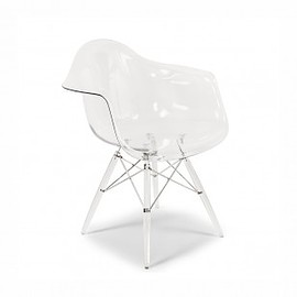 Eames - Transparent Molded Plastic DAW