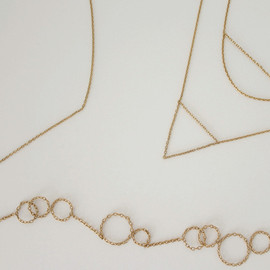 oue - chain  necklace